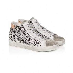 AIR & GRACE Alto Cheetah High Top Trainers