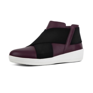 FitFlop™ Superflex Ankle Boot Deep Plum