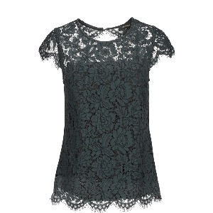 MOS MOSH X Goldie Lace Blouse Green