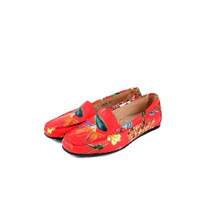 Vittoria Bird of Paradise Loafer Coral
