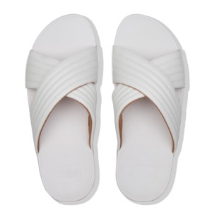 FITFLOP Lulu Padded Slide Urban White