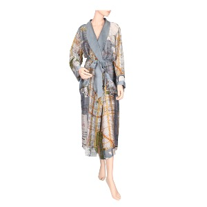 ONE HUNDRED STARS Robe New York Map