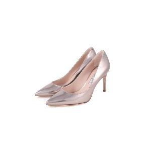 Rotta Gold Leather Court Shoes
