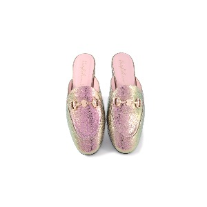 Pretty Ballerinas Faye Gold Slide