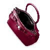 SAVE MY BAG Miss Red Metallic Handbag