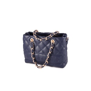 Valentino Small Quilted Bag Navy VBS29805