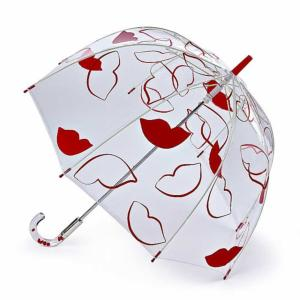 Lulu Guinness Umbrella Birdcage Fun Lips