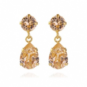 CAROLINE SVEDBOM Mini Drop Earrings Gold