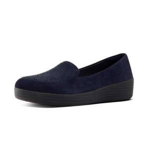 FitFlop™ Sparkly Sneakerloafer Midnight Navy