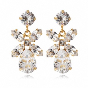 CAROLINE SVEDBOM Mini Dione Earrings Crystal