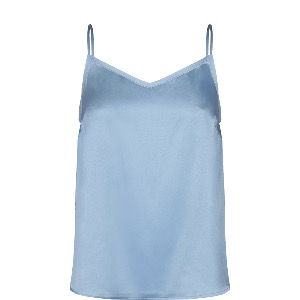 MOS MOSH X Ditte Silk Top Blue