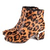 DKNY Corrie Ankle Boot Leopard
