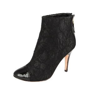 Lucy Choi Black Lace Boot Eugenie