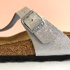 BIRKENSTOCK Gizeh Graceful Silver Sandals