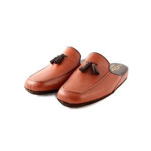 CRB Italian Mens Leather Slippers