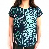 MERCY DELTA Blair Python Jungle Top