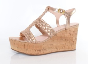 Kate Spade Rose Gold Wedge Tianna