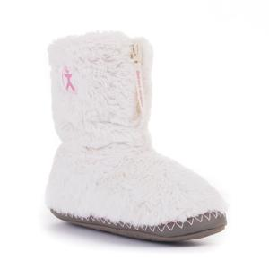 Bedroom Athletics Monroe Faux Fur Bootie Cream