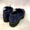 VITTORIA MENGONI Moccasins Feather Blue