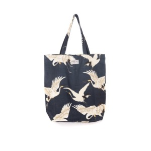 ONE HUNDRED STARS Tote Cranes Charcoal