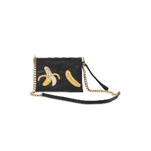 Tea & Tequila Colima Banana Black Cross-body Bag