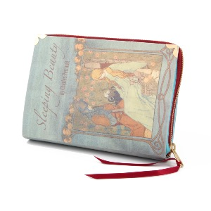 Story Book Clutch Bag Sleeping Beauty