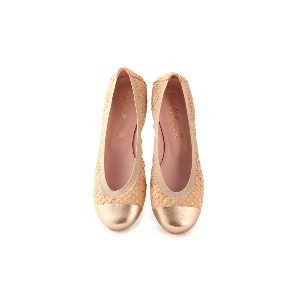 Pretty Ballerinas Shirley Tan Gold