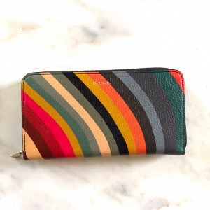 PAUL SMITH Swirl Leather Large Purse