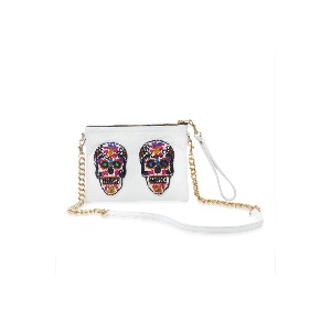 Tea & Tequila Sonora White Sugar-skull Bag