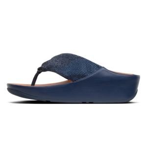 FITFLOP X SALE Twiss Crystal Sandal Midnight Navy